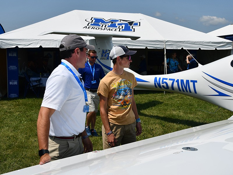 MTSU Aerospace at EAA AirVenture