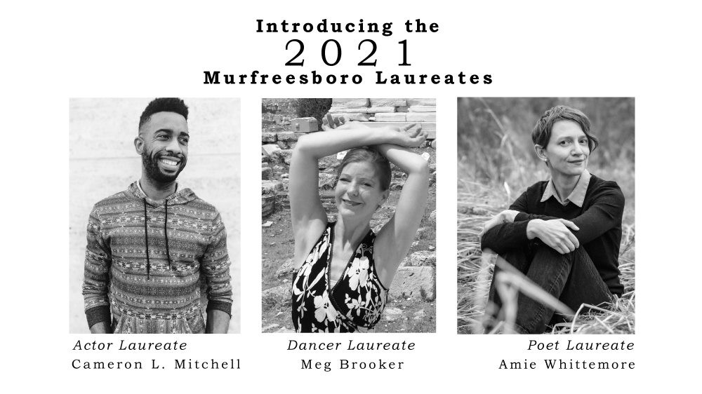 Murfreesboro Cultural Arts Laureate Program 2021 recipients
