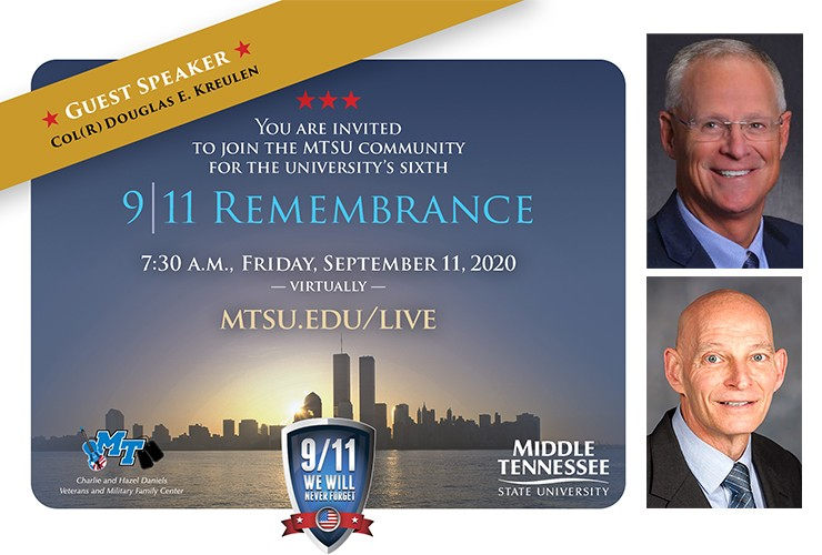 9/11 Remembrance at MTSU