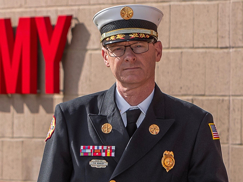 La Vergne Fire Chief Ronny Beasley