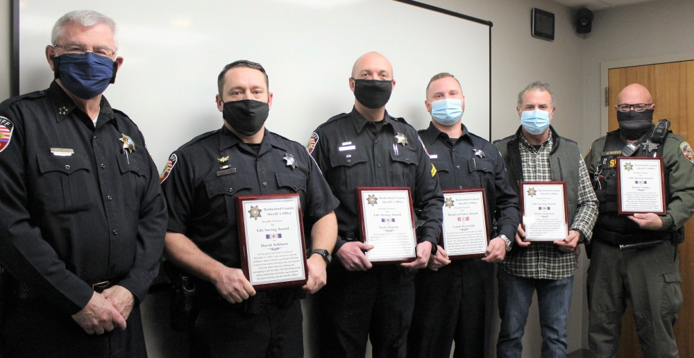 Rutherford County Sheriff's Office Life Saving Awards