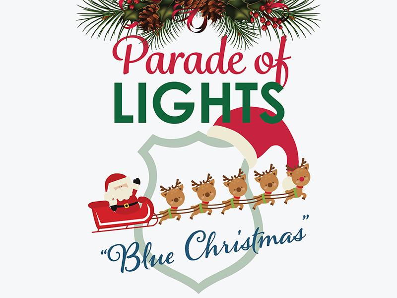 "La Vergne Parade of Lights ""Blue Christmas"""