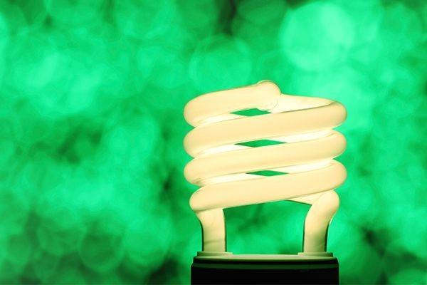 A Compact Fluorescent Lightbulb
