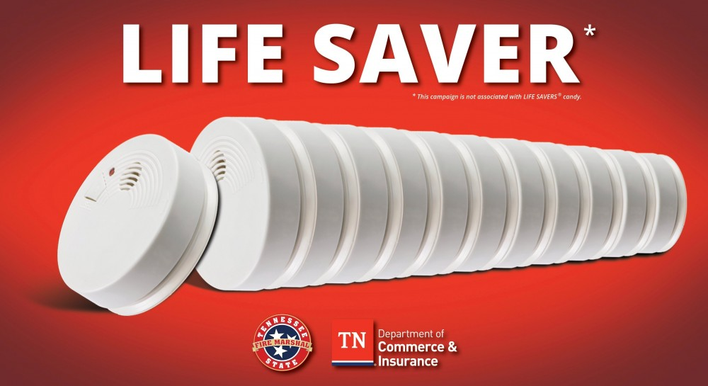 Smoke alarms are life savers