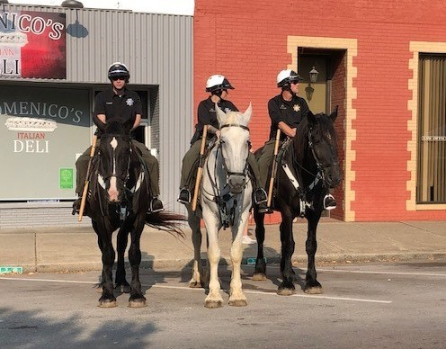 """""""Ride Your Steel Horses to Meet the Patrol Horses"""""""