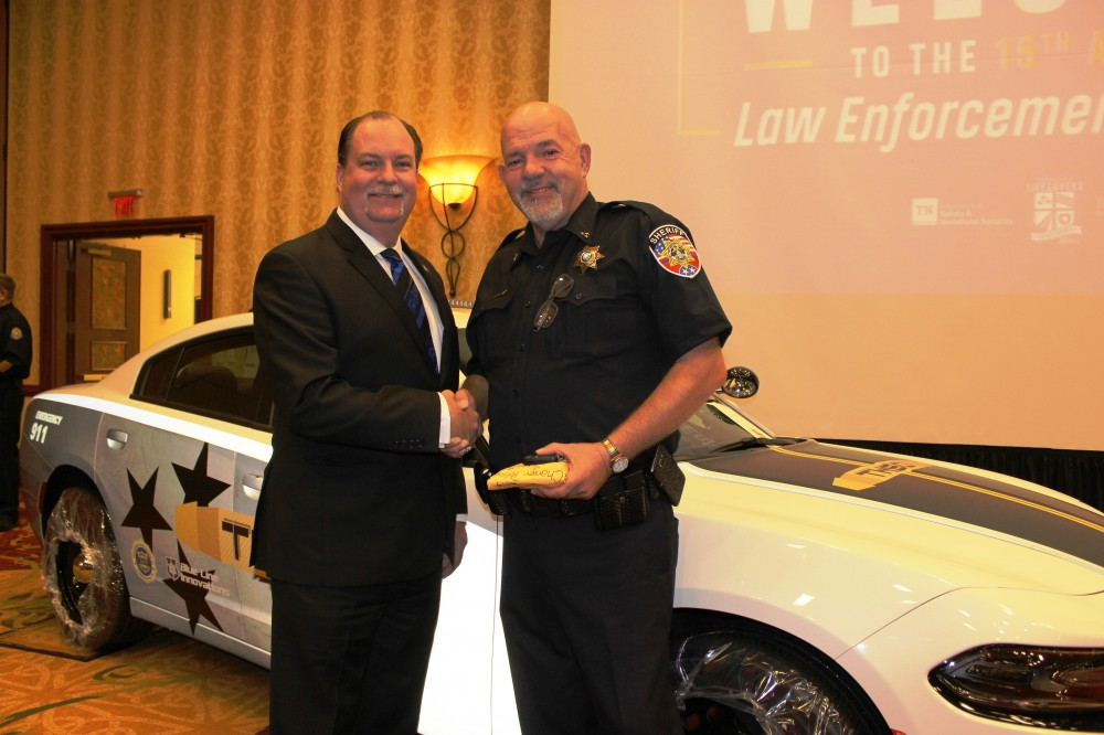 Rutherford County Sheriff's Office's new Dodge Challenger