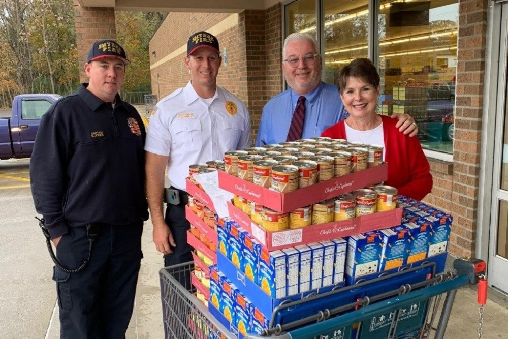 'Firefighters for Food' drive