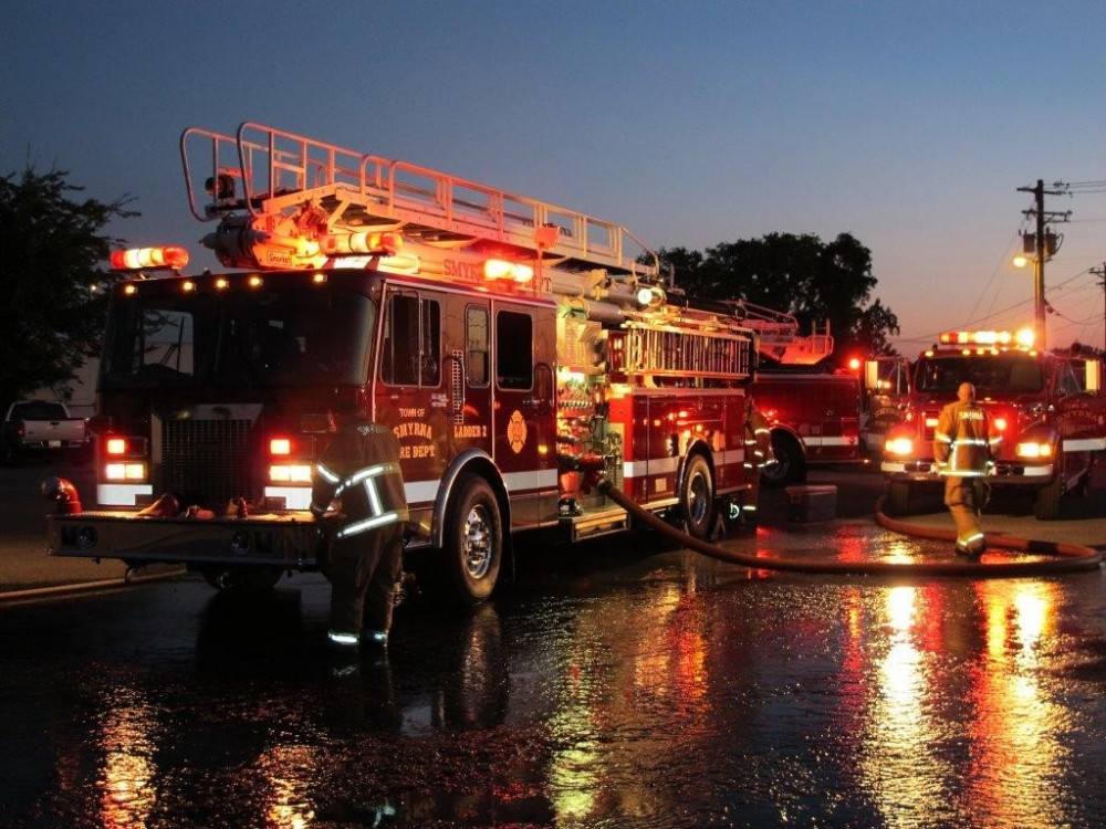 Firehouse Subs Grant for Smyrna Fire Department