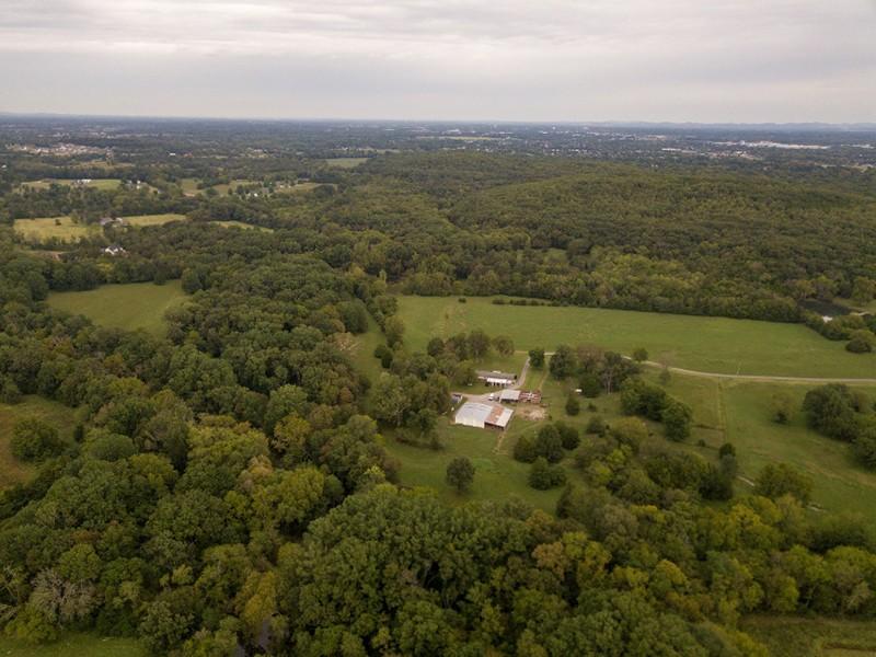 Drone Photo of Oakwood Farm