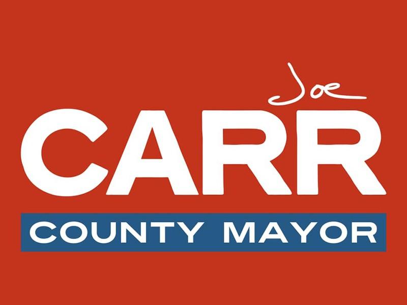 Joe Carr County Mayor