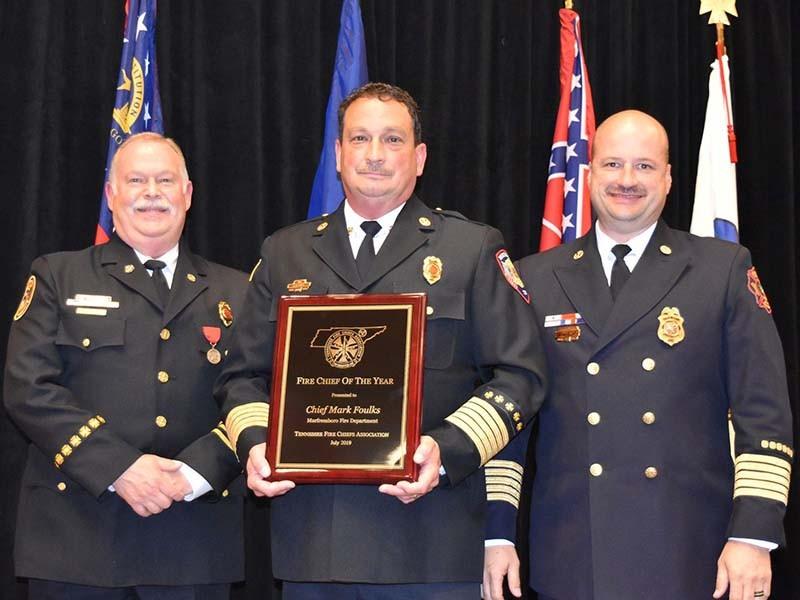 Murfreesboro Fire and Rescue Dept Chief Mark Foulks