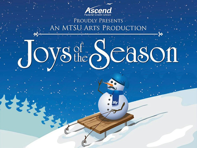 MTSU Joys of the Season