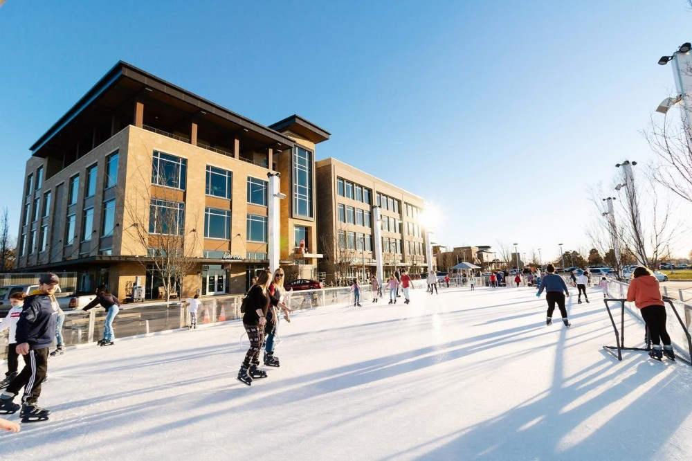 Ice Rink at Fountains at Gateway