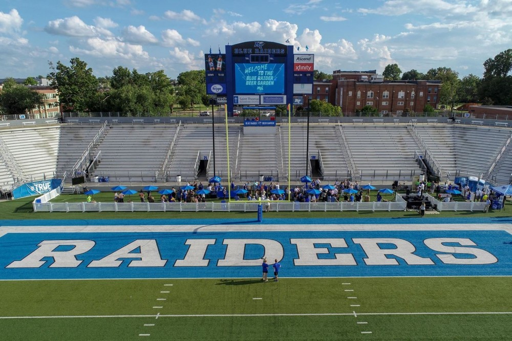 Blue Raider Beer Garden at Floyd Stadium