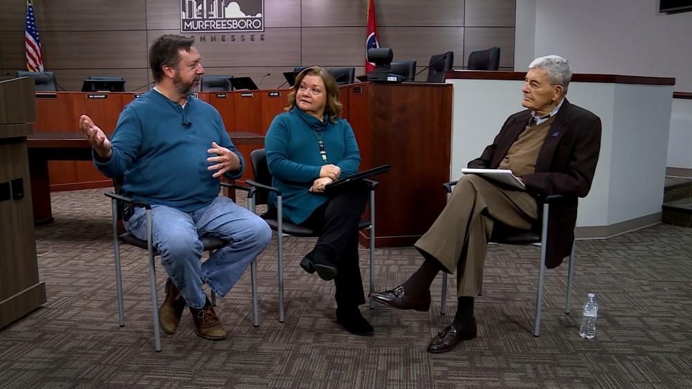 Homelessness advocates on Murfreesboro Storytellers