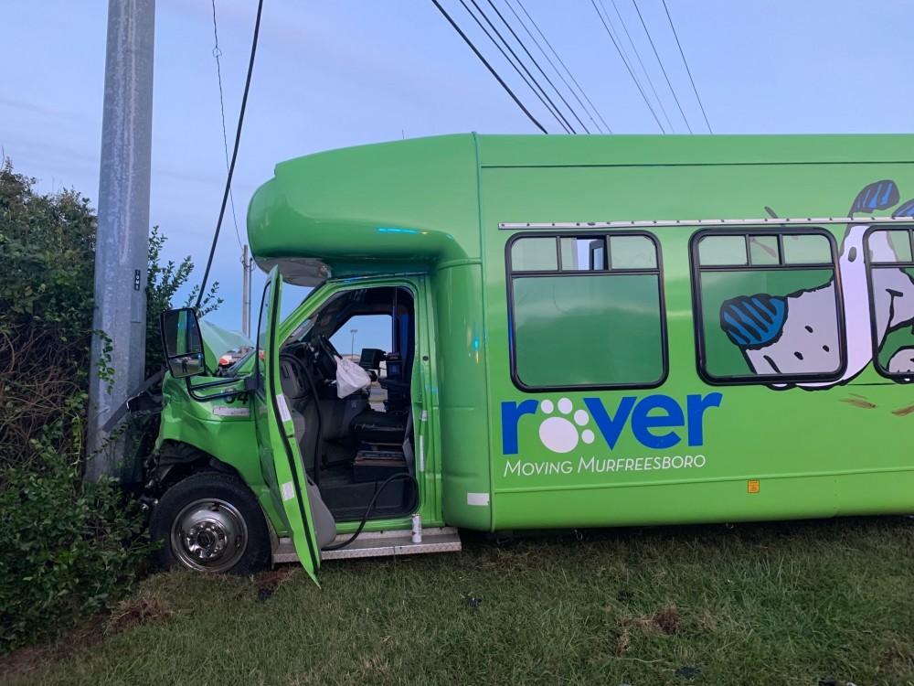 A City of Murfreesboro Rover Public Transportation