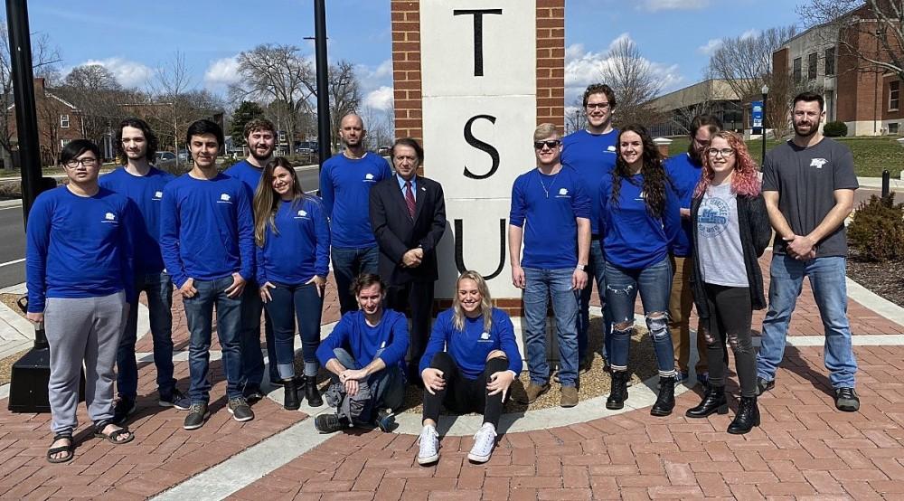 MTSU Team No. 2 from the MTSU Experimental Vehicles Program