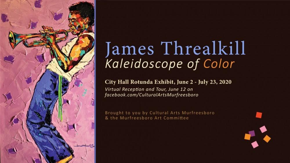 Murfreesboro artist James Threalkill