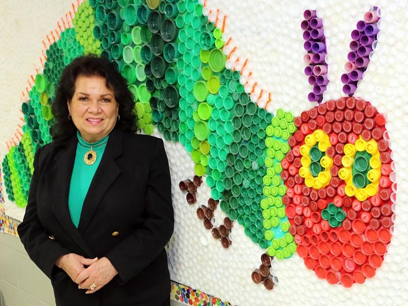 Barfield Principal Judy Goodwin
