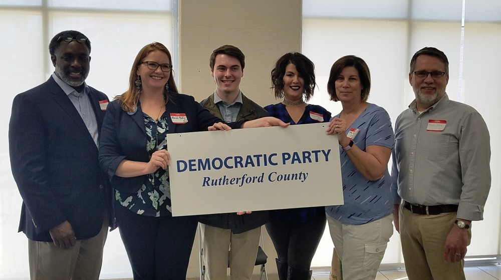 Politics, Rutherford County Democratic Party