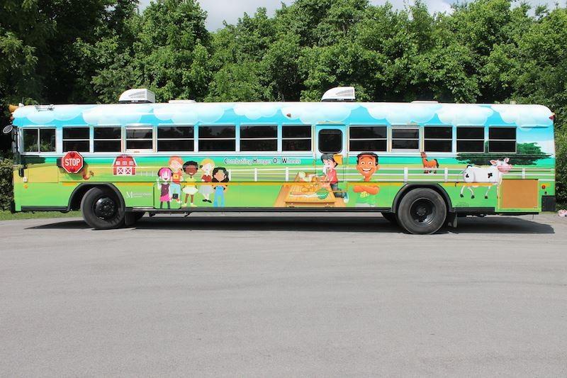 Murfreesboro City School's CHOW Bus