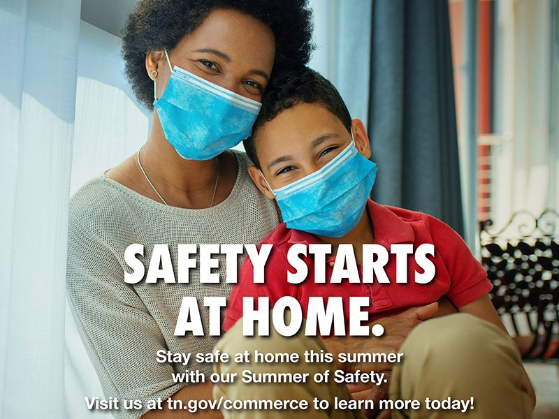 Safety starts at home.