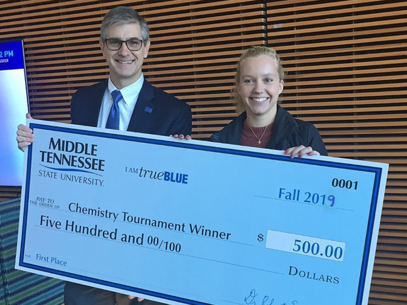2019 MTSU Department of Chemistry Scholarship Tournament