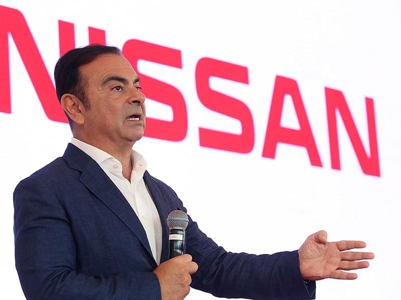 Nissan's former CEO Carlos Ghosn