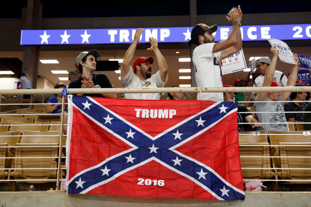 Trump-Confederate flag circa 2016