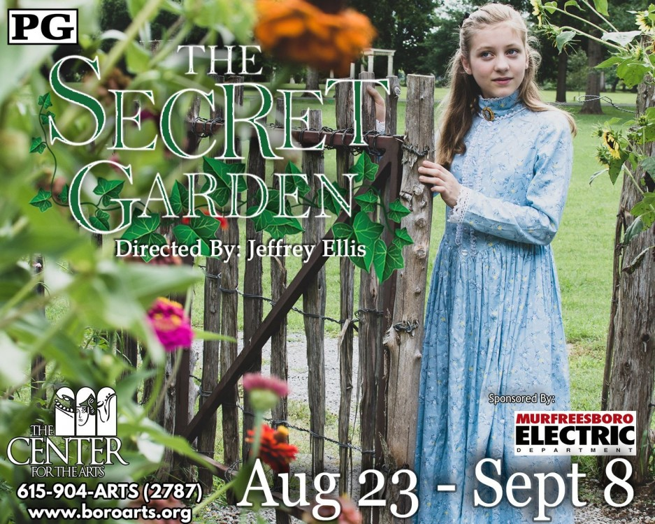 The Secret Garden at the Center for the Arts
