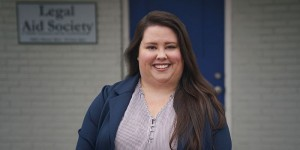 Alix Rogers is an attorney in the Murfreesboro office of Legal Aid Society. Her practice focuses on helping survivors of domestic abuse gain safety and independence from their abuser.
