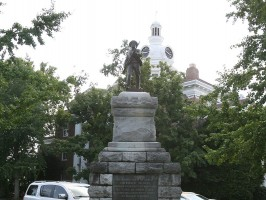 """""""Guardian of Peace"""" statue, a.k.a., """"Johnny Reb"""""""