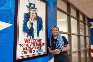 MTSU graduate student and Class of 2018 alumna Keyann Reaves