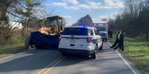 Murfreesboro Police investigate a fatal crash involving road grader and flagman