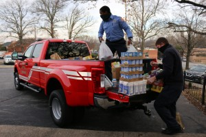 Smyrna Firefighters for Food
