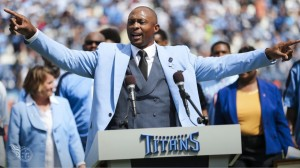 Eddie George-Steve McNair Jersey Number Retirement Ceremony