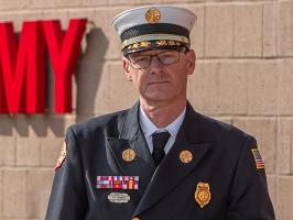 La Vergne Fire Chief Ronny Beasley