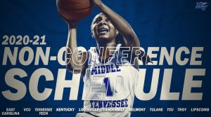 2020-21 season Middle Tennessee women's basketball non-conference schedule