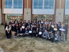 Siegel High School's Model UN team
