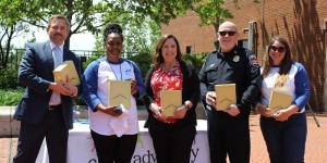 Five community leaders achieved the 2021 Hometown Hero awards Friday from the Child Advocacy Center of Rutherford and Cannon counties.