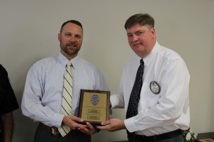 Noon Exchange Club Officer of the Year award