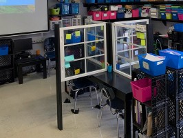 Barfield Elementary teacher gets creative with socially distanced classroom