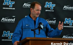 Former MTSU men's basketball coach Kermit Davis