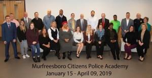 Murfreesboro Citizens Police Academy
