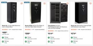 Gun safes for sale