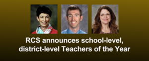Rutherford County Schools 2020 Teachers of the Year