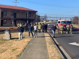 Fire at Jackson Motel in Murfreesboro