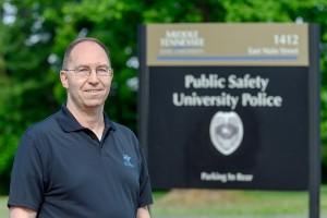 MTSU Police Chief Buddy Peaster