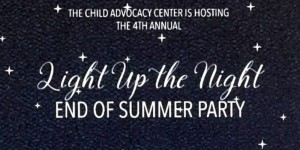Light Up the Night Party to celebrate the end of summer
