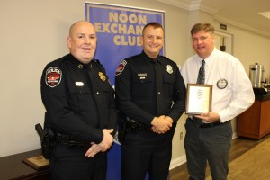 Murfreesboro Police Department 2019 Officer of the Year